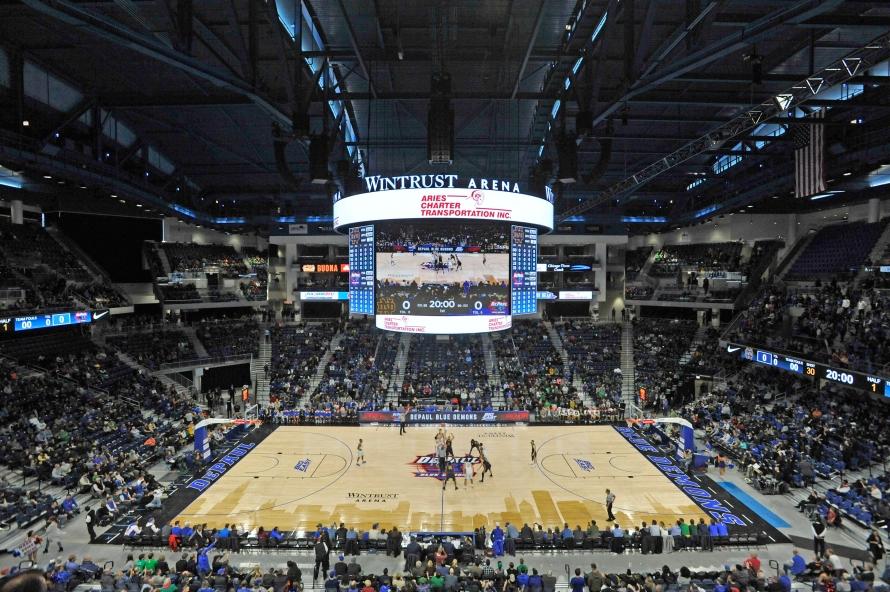 Wintrust Arena, DePaul, Notre Dame